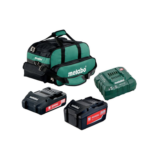 Metabo 2.0Ah + 5.2Ah Ultra-M Battery Starter Kit - US625596052