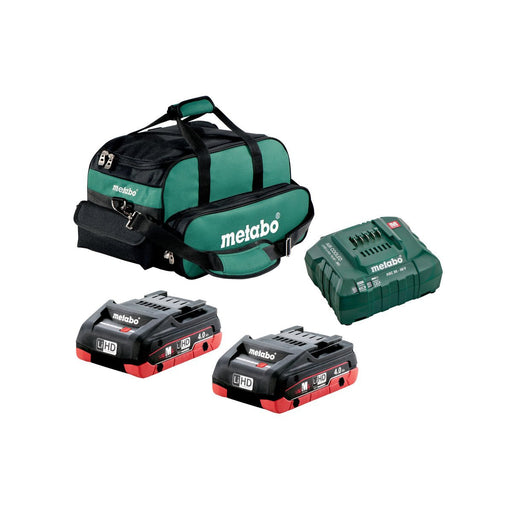 Metabo 2x 4.0Ah LiHD Ultra-M Compact Kit - US625367002