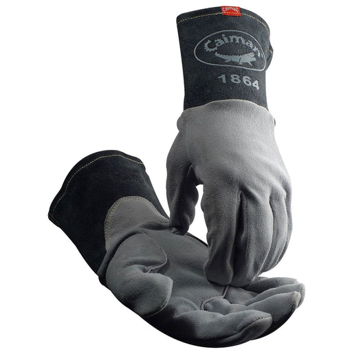 Caiman TIG Welding Gloves w/ Lean-On Patch - 1864