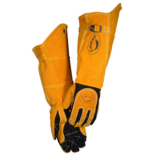 Caiman American Deer Leather Kontour MIG/TIG Gloves - 1878