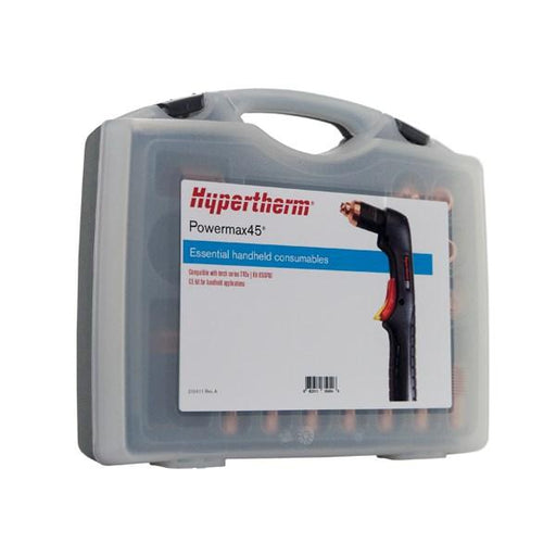 Hypertherm Powermax45 CE Ess. Handheld Cutting Consumable Kit - 851477