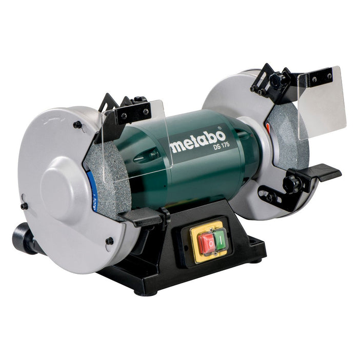"Metabo DS 175 7"" Bench Grinder angles view"