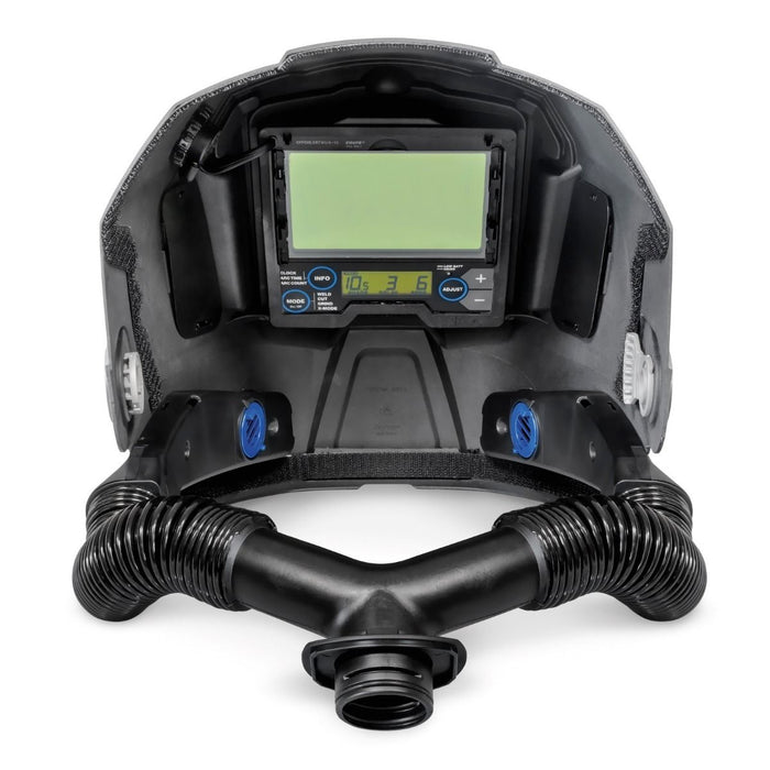 Inside of the Miller T94i-R PAPR Welding Helmet
