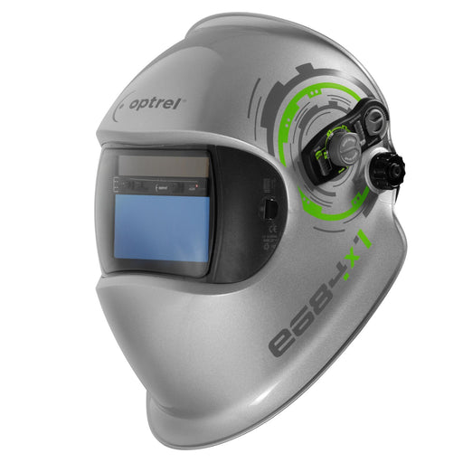 Optrel e684 Welding Helmet shown from the front