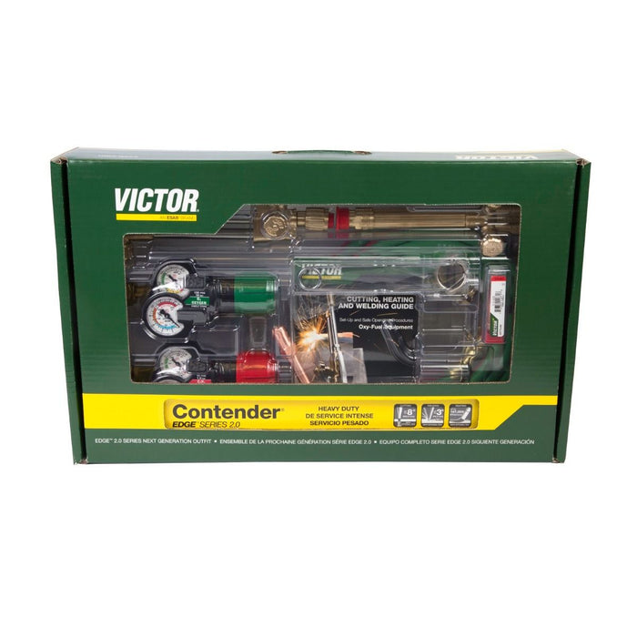 Victor Contender 540/510 Edge 2.0 Heavy Duty Outfit (Acetylene) - 0384-2130