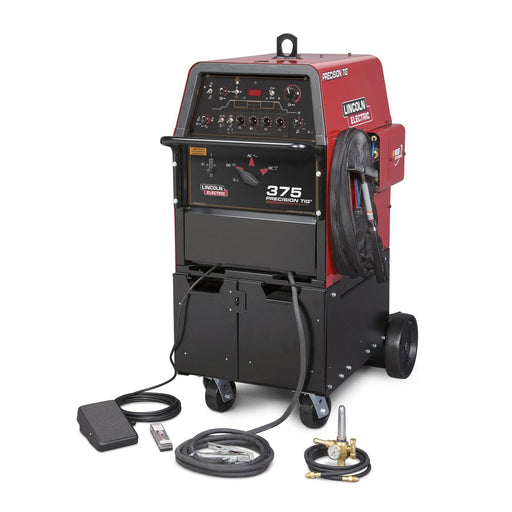 Lincoln Precision TIG 375 TIG Ready-Pack w/ Cart - K2624-1