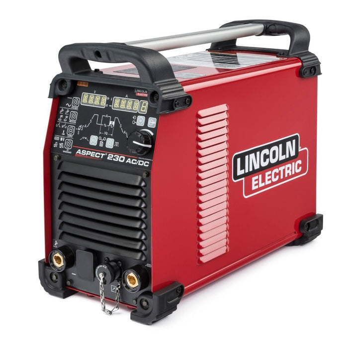 Lincoln Aspect 230 AC/DC Water Cooled One-Pak TIG Welder - K4342-1