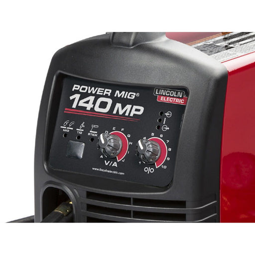 Lincoln Power MIG 140 MP Multi-Process Welder TIG One-Pak - K4499-1