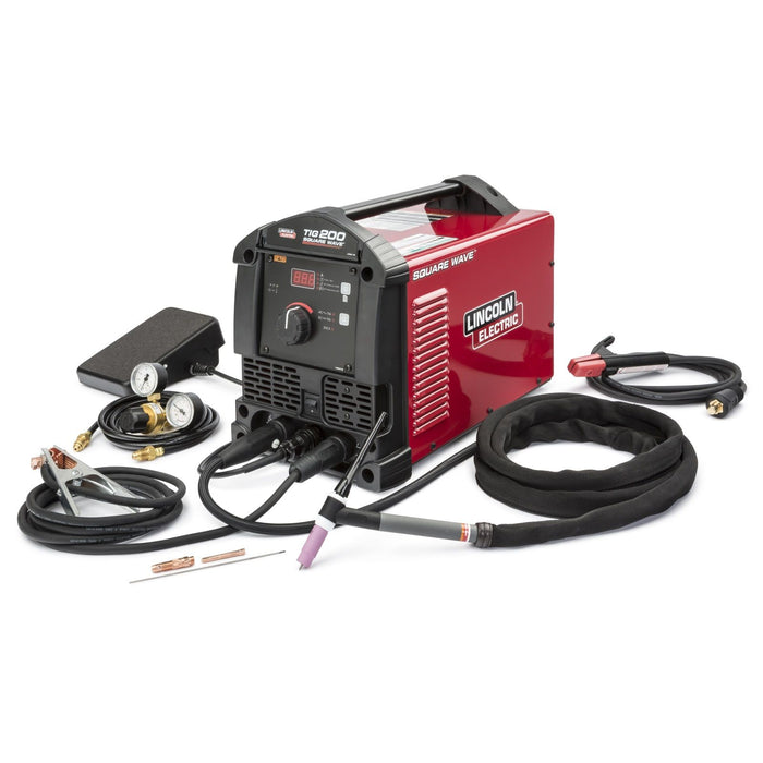 Lincoln Square Wave TIG 200 TIG/Stick Welder - K5126-1