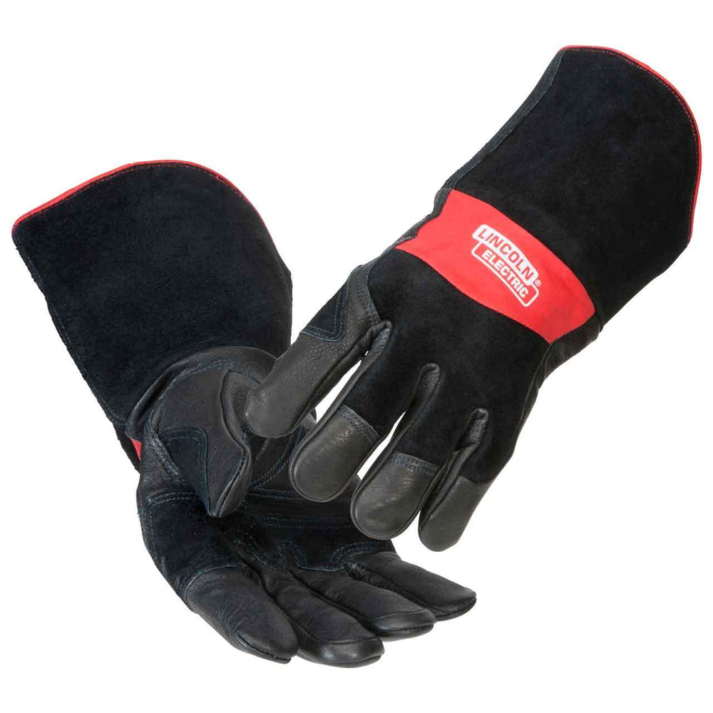 Lincoln Premium Leather MIG/STICK Welding Gloves - K2980