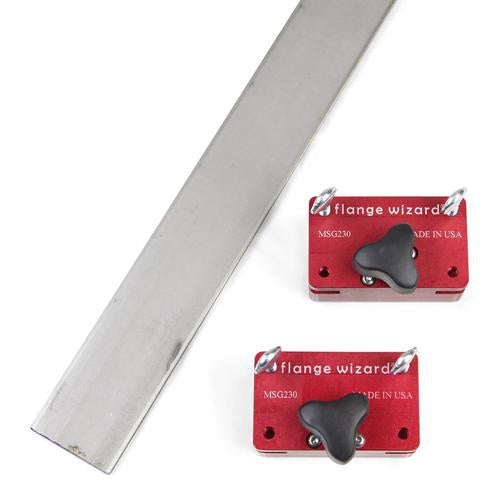 "Flange Wizard Magnetic Cutting Torch Guide, 24"" - MSG230"