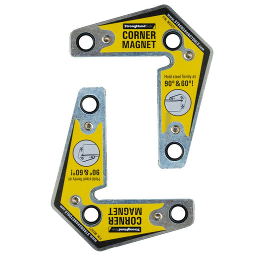 Strong Hand Tools Corner Magnet Twin Set - MST327