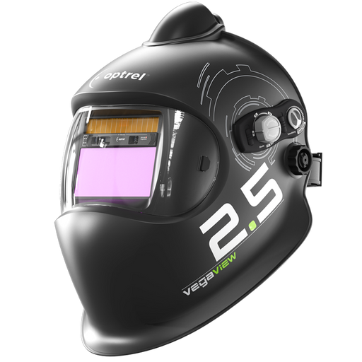Optrel Vegaview 2.5 Welding Helmet with a PAPR connection