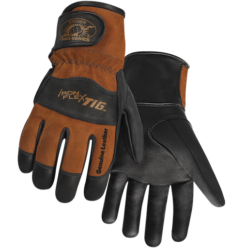Steiner Pro-Series IronFlex TIG Kidskin Welding Gloves - 0262