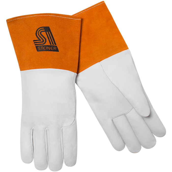 Steiner SensiTIG Premium Grain TIG Gloves, Kevlar Lined - 0224K