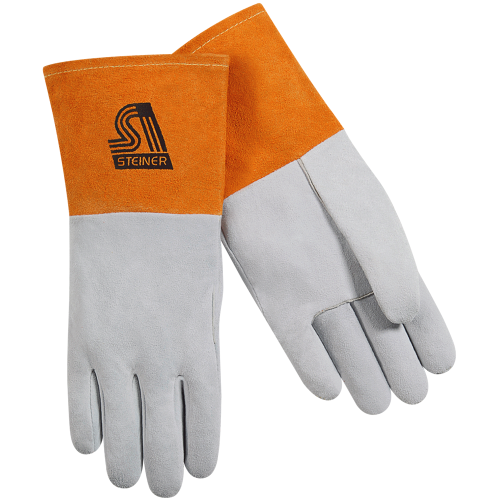 Steiner Premium Split Deerskin TIG Welding Gloves, Unlined Long Cuff - 0220