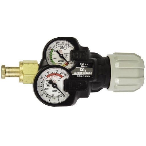 Victor EDGE 2.0 ESS32-150-320 S/S CO2 Regulator - 0781-3638