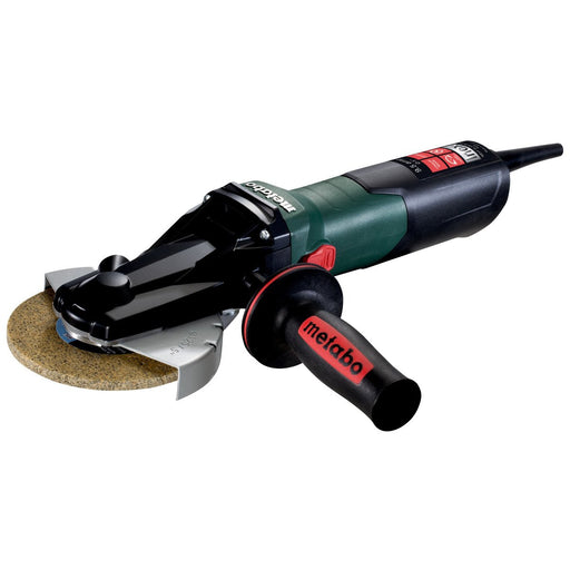 "Metabo WEVF 10-125 Quick Inox 5"" Flat-Head Angle Grinder - 613080420"