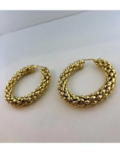 Florence Pebble Hoop Earrings XL