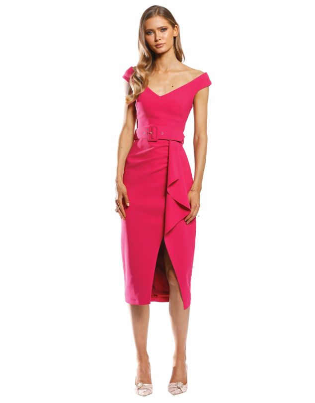 Pasduchas - Dynasty Waterfall Midi Dress