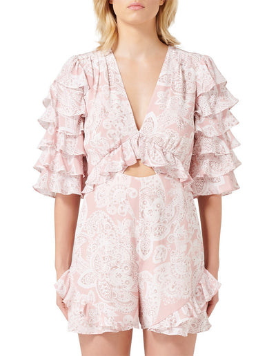Thurley - Gia Ruffle Playsuit