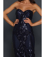 Elle Zeitoune - Jones Dress, Navy