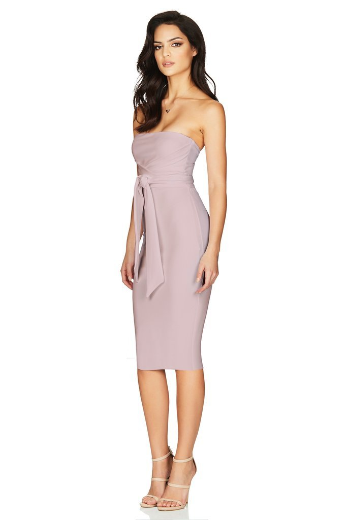 Nookie - Royal Strapless Midi Dress