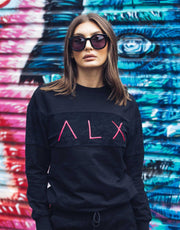 ALX - Samual Black Hot Pink