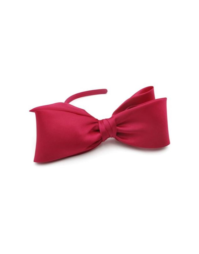 Morgan & Taylor - Vada Bow Fascinator, Hot Pink