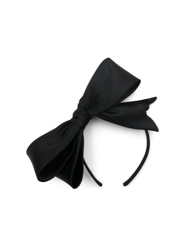 Morgan & Taylor - Vada Bow Fascinator, Black