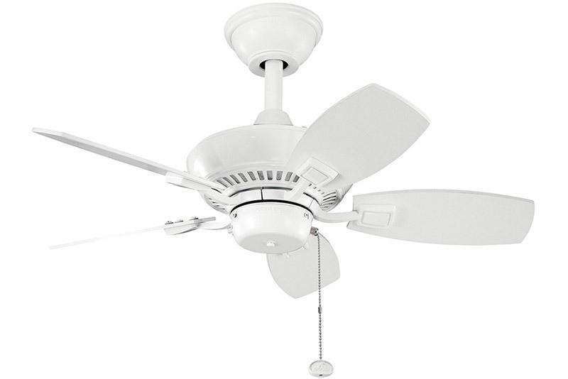 Kichler - 300103WH - 30``Ceiling Fan - Canfield - White