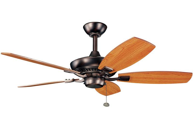 Kichler - 300107OBB - 44``Ceiling Fan - Canfield - Oil Brushed Bronze