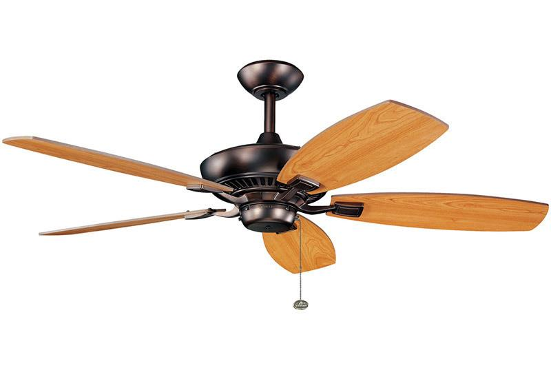 Kichler - 300117OBB - 52``Ceiling Fan - Canfield - Oil Brushed Bronze