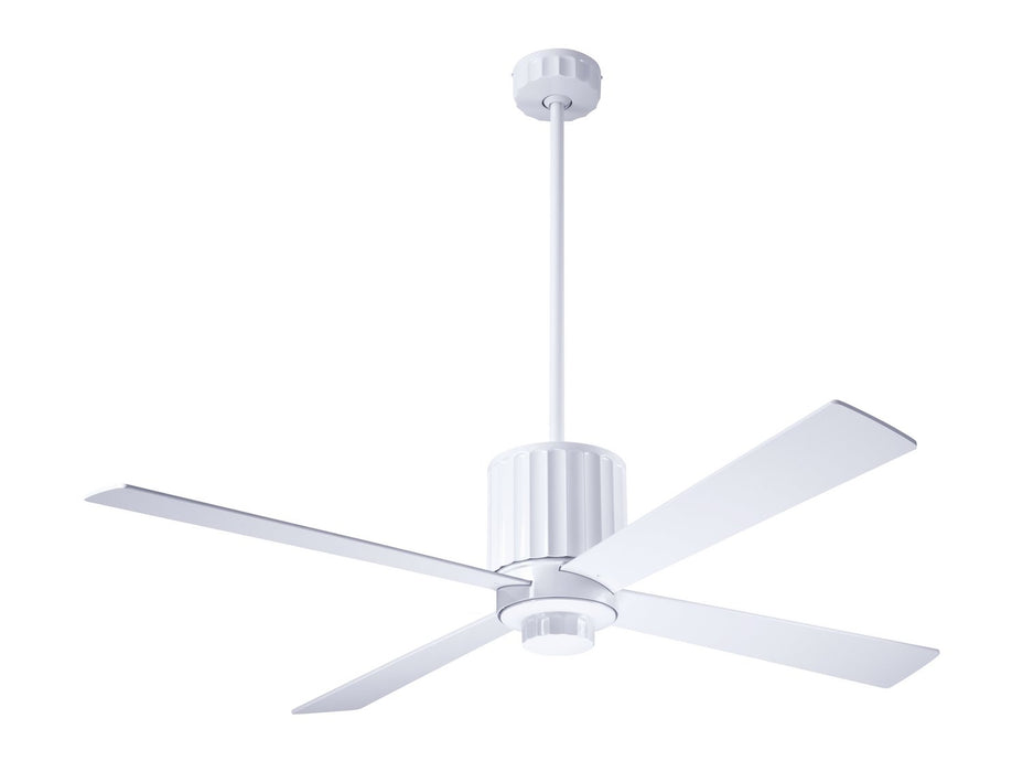 "Modern Fan Co - FLU-GW-52-WH-NL-003 - 52"" Ceiling Fan - Flute"