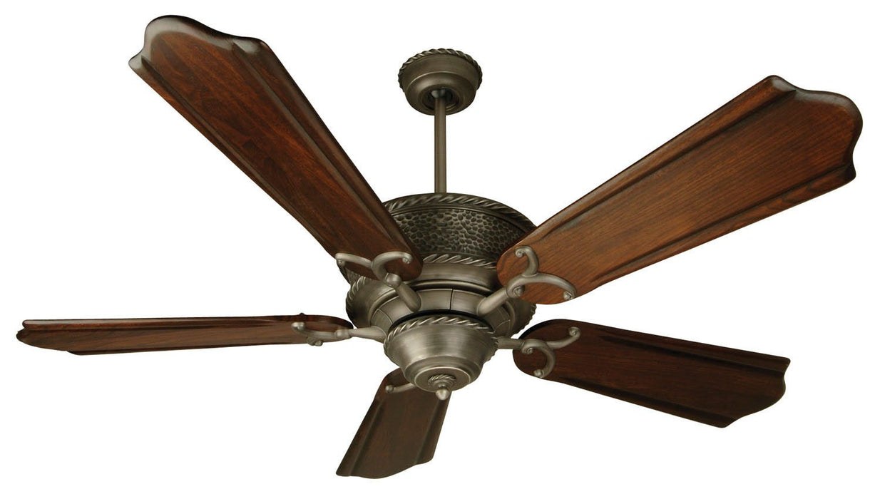 "Craftmade RT52AN 52"" Ceiling Fan with Blades Sold Separately - Riata in Pewter"