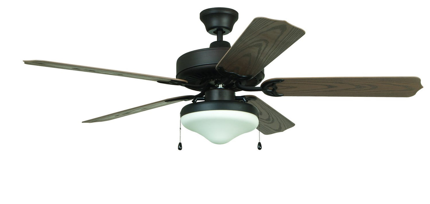 "Craftmade END52ABZ5C 52"" Ceiling Fan with Blades Included - All-Weather in Aged Bronze"