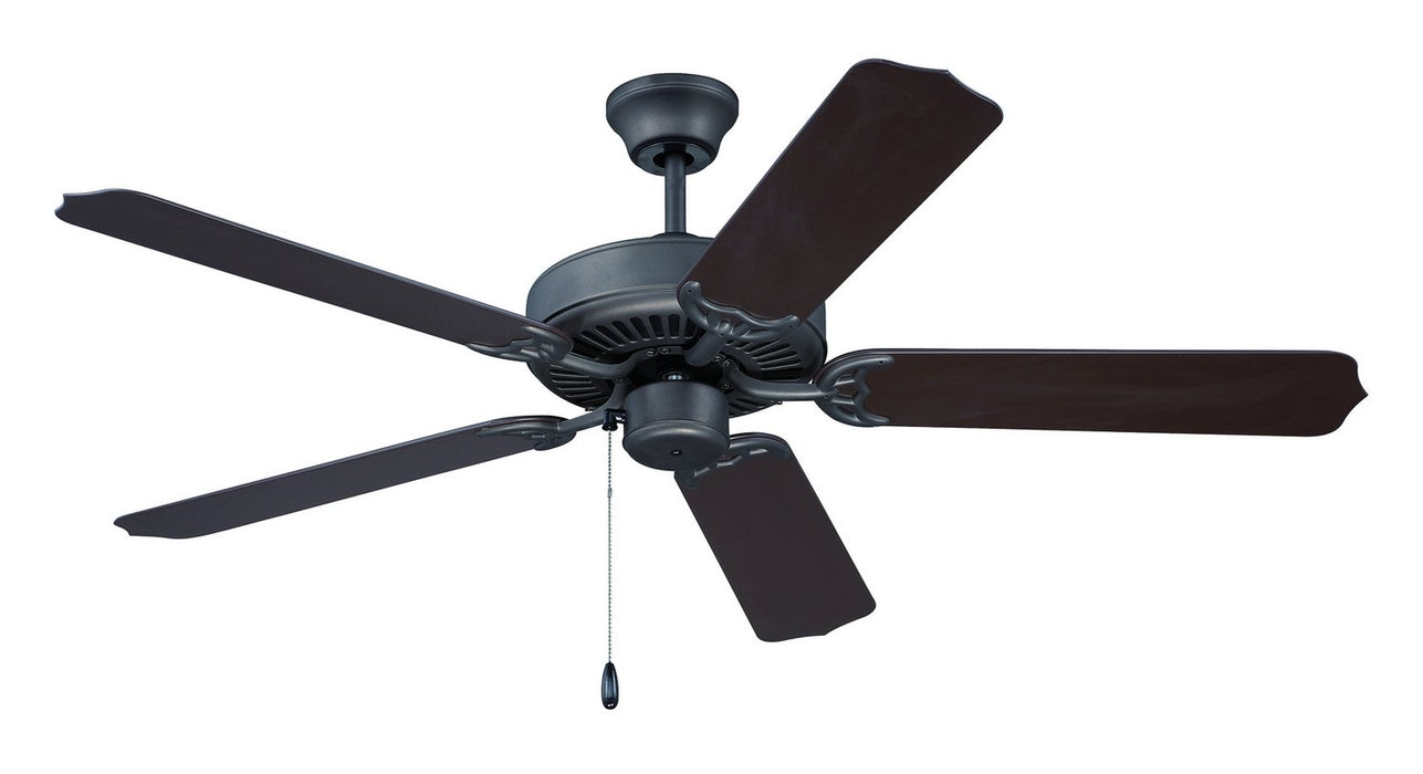 "Craftmade END52ESP5X 52"" Ceiling Fan with Blades Included - All-Weather in Espresso"