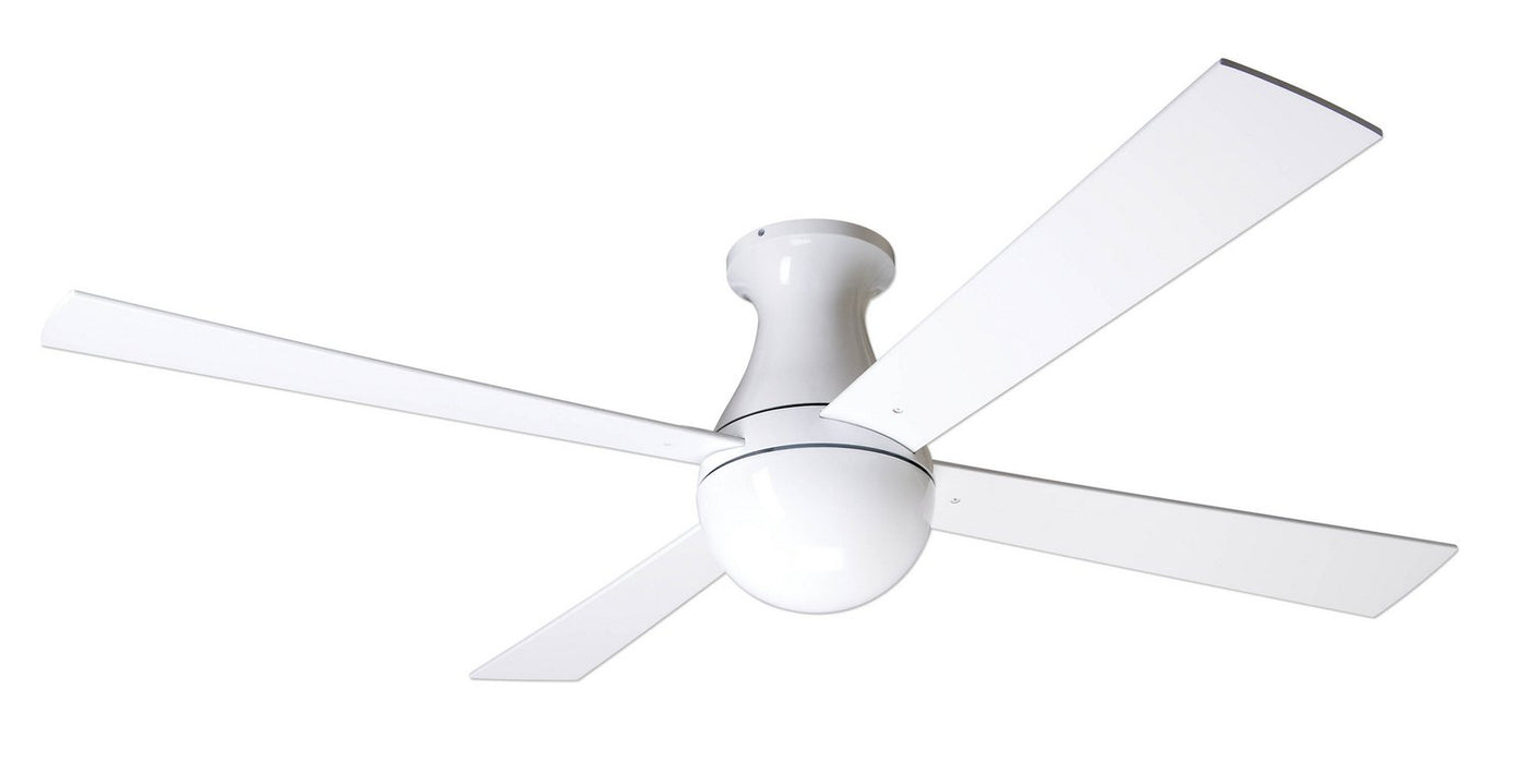 "Modern Fan Co - BAL-FM-GW-52-WH-NL-002 - 52"" Ceiling Fan - Ball"