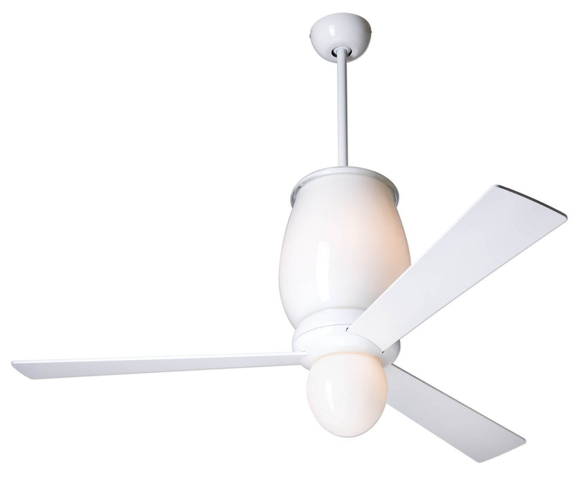 "Modern Fan Co - LUM-GW-52-WH-LED-004 - 52"" Ceiling Fan - Lumina"