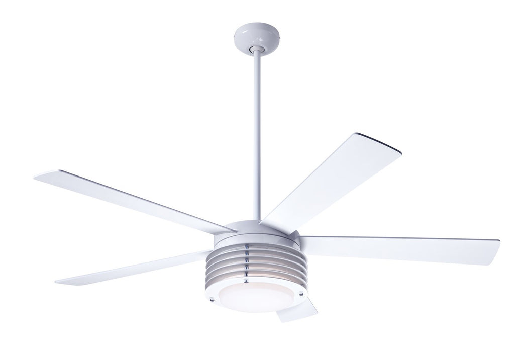 "Modern Fan Co - PHA-GW-52-WH-LED-003 - 52"" Ceiling Fan - Pharos"