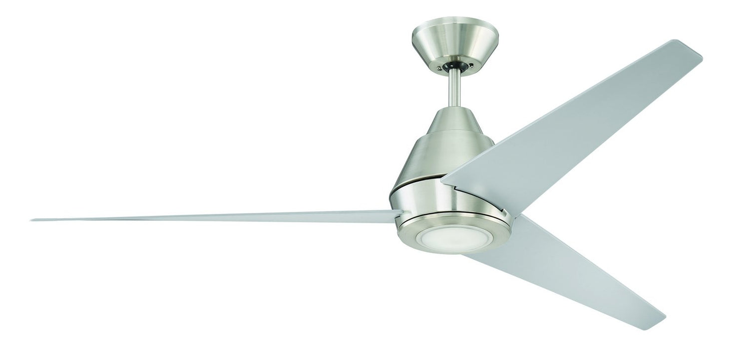 "Craftmade ACA56BNK3-UCI 56"" Ceiling Fan - Acadian in Brushed Polished Nickel"