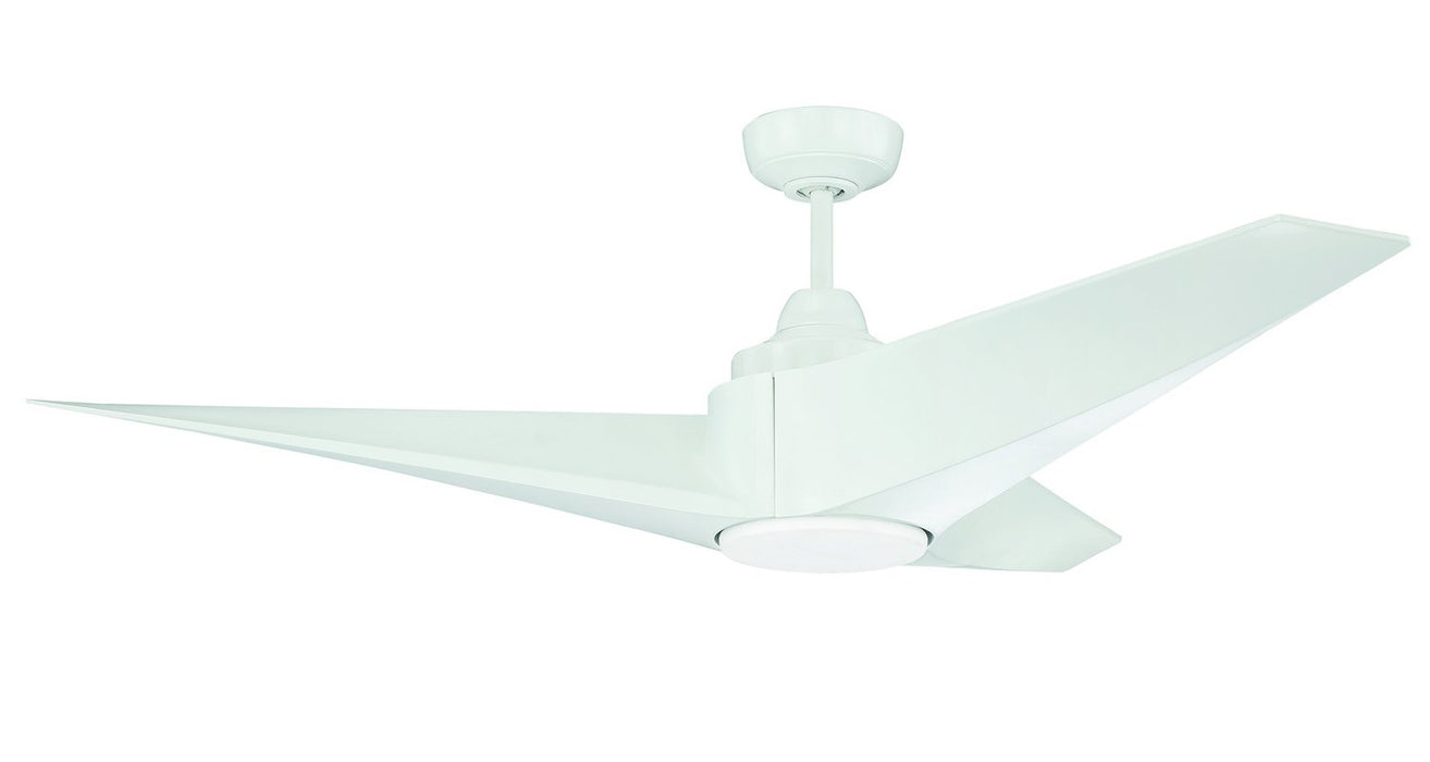 "Craftmade FRE56W3 56"" Ceiling Fan - Freestyle in White"
