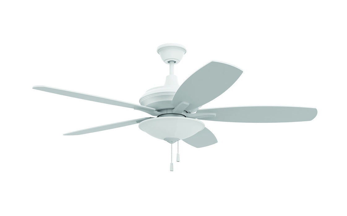 "Craftmade JAM52W5-LED 52"" Ceiling Fan - Jamison in White"