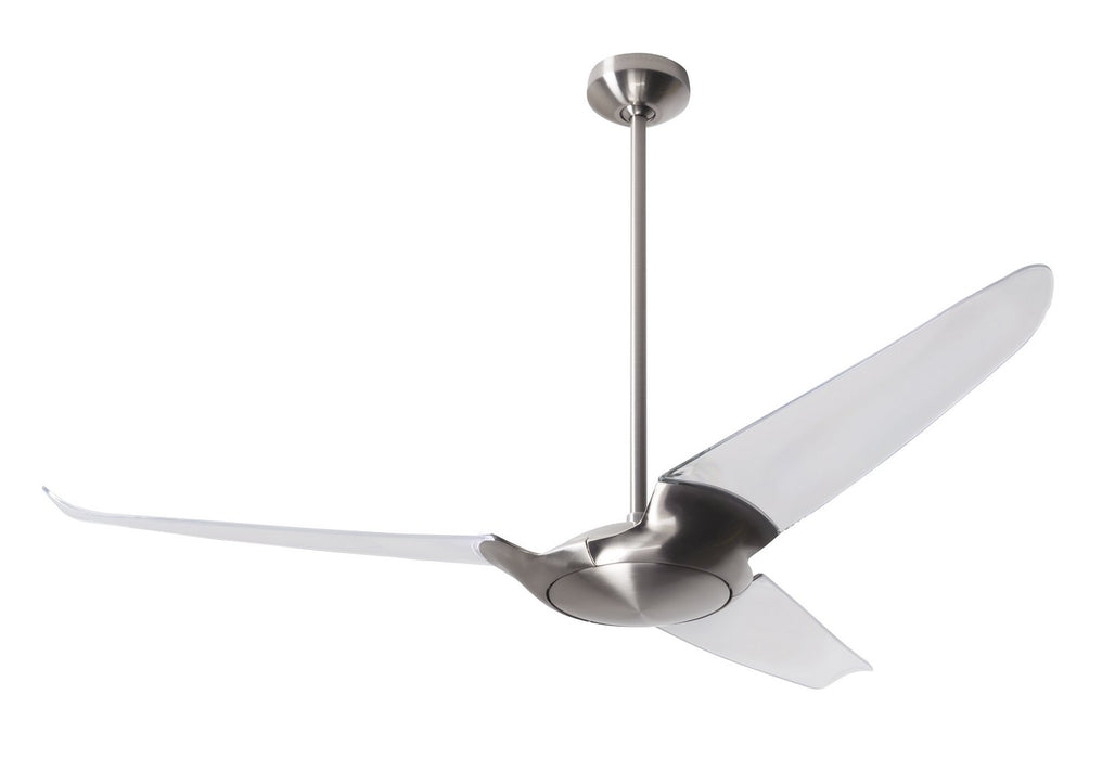 "Modern Fan Co - IC3-BN-56-CL-NL-RC - 56"" Ceiling Fan - IC/Air3"