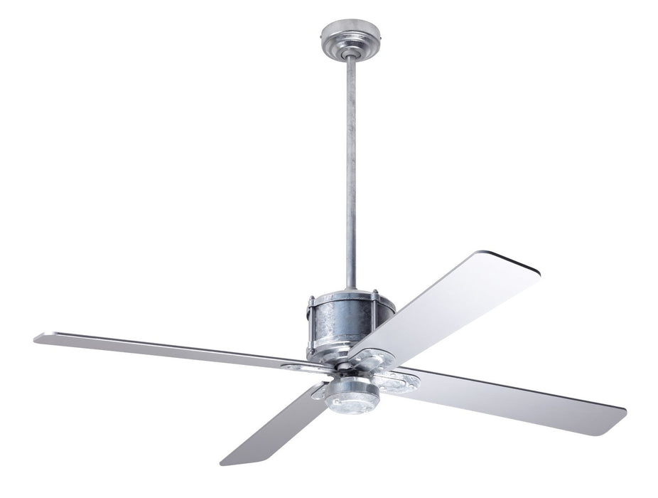 "Modern Fan Co - IND-GV-50-SV-NL-WC - 50"" Ceiling Fan - Industry DC"