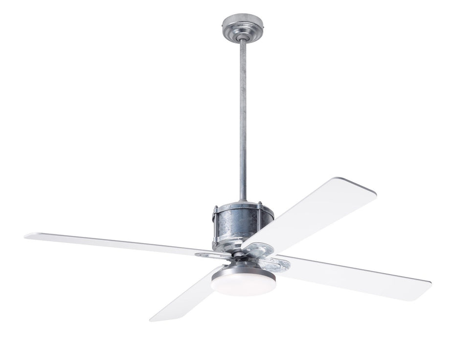 "Modern Fan Co - IND-GV-50-WH-272-RC - 50"" Ceiling Fan - Industry DC"