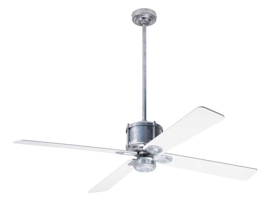 "Modern Fan Co - IND-GV-50-WH-NL-WC - 50"" Ceiling Fan - Industry DC"