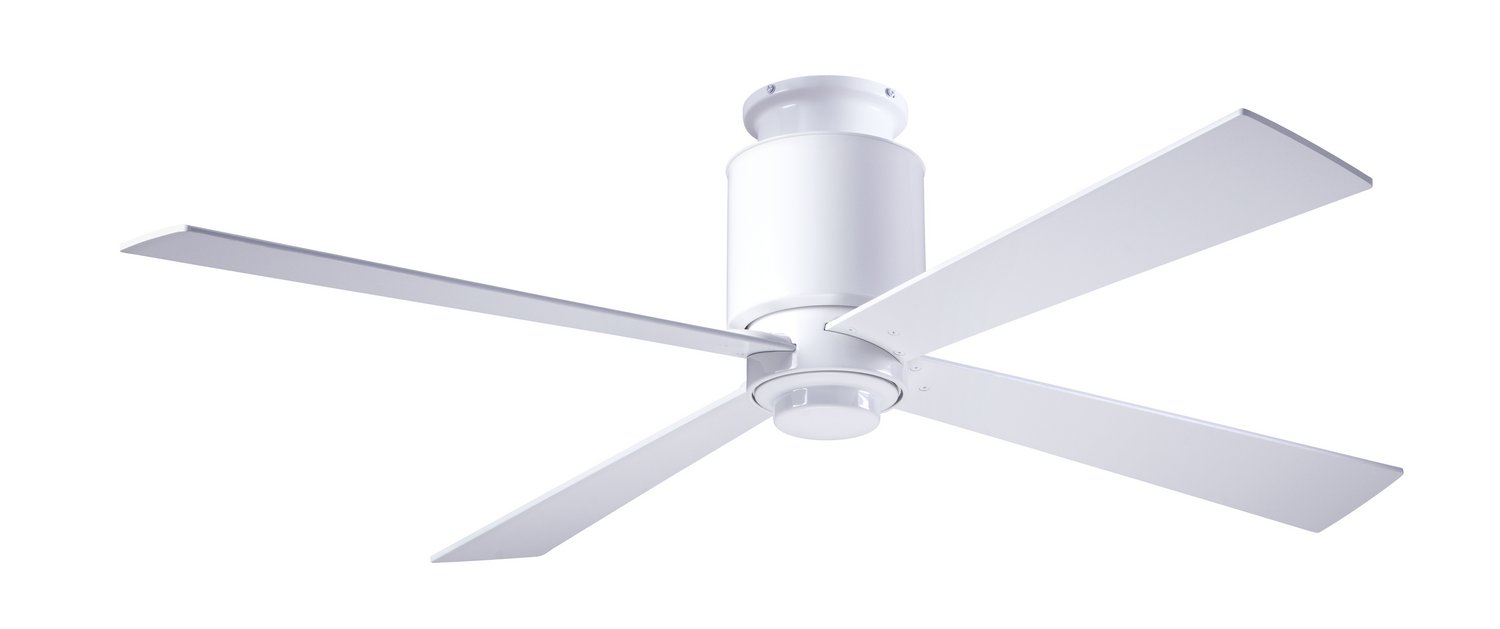 "Modern Fan Co - LAP-FM-GW-50-WH-NL-001 - 50"" Ceiling Fan - Lapa"
