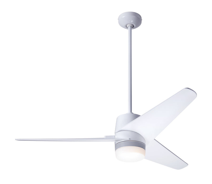 "Modern Fan Co - VEL-GW-48-WH-853-CC - 48"" Ceiling Fan - Velo DC"