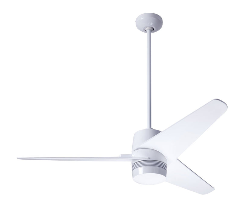 "Modern Fan Co - VEL-GW-48-WH-NL-RC - 48"" Ceiling Fan - Velo DC"